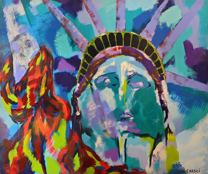 American Artist-American Dreams 36x48