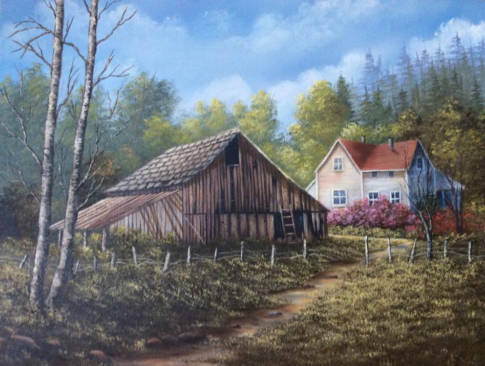 Barn by Linda Bones