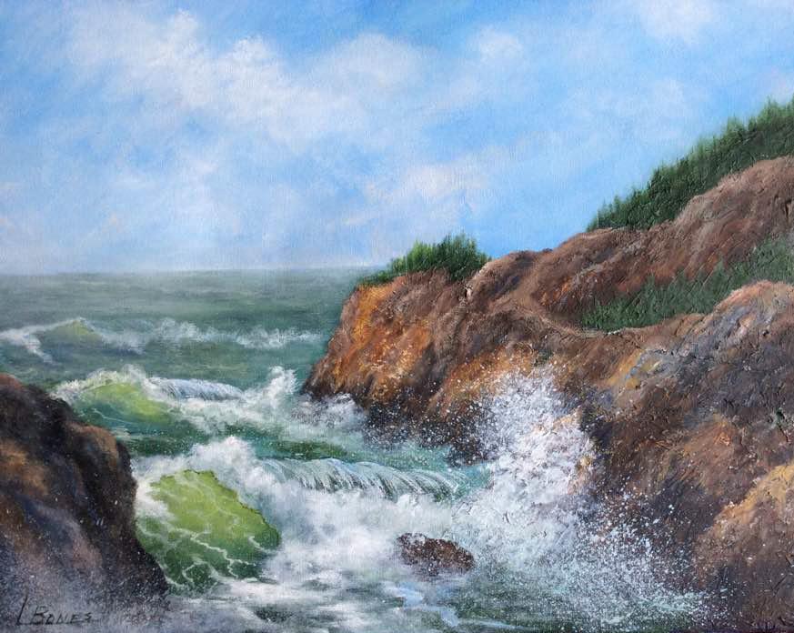 Seascape by Linda Bones