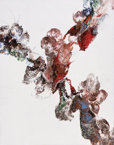 Acrylic Pour by Katerina Capetanos
