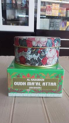 Al Haramain Oud Ma'al Attar, 40gms