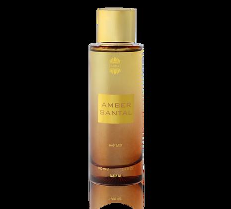Amber Santal Hair Mist, 100ml - Unisex (Rag/Dumar)