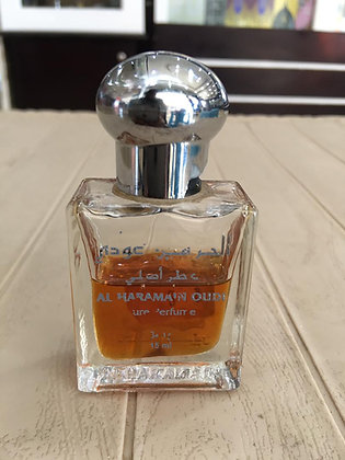 Al Haramain Oud 15ml oil, Unisex (Rag/Dumar)