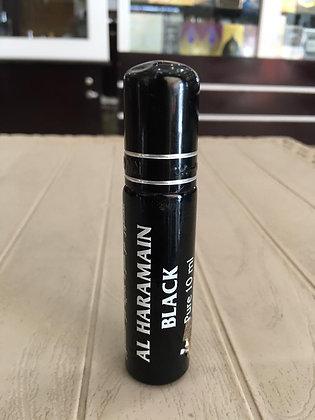 Al Haramain Black 10ml oil, Unisex (Rag/Dumar