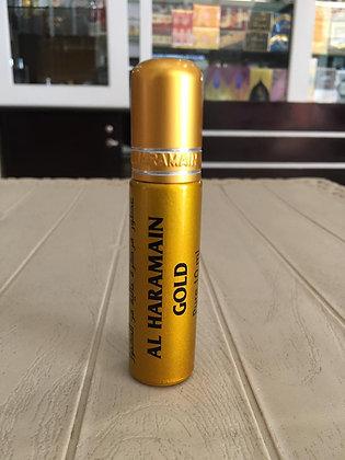Al Haramain Gold 10ml oil, Unisex (Rag/dumar)