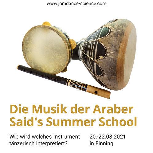 Said's Summer School 2021