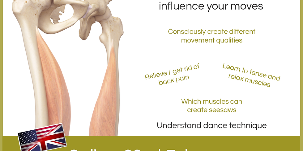 Dance-Science: Let The Muscles Dance!
