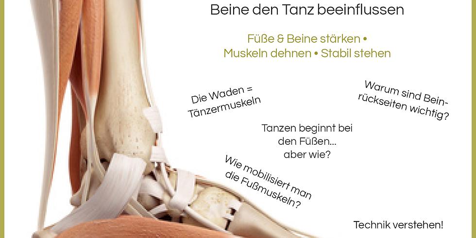 Dance Science: Lass die Muskeln tanzen - Von Füßen und Beinen