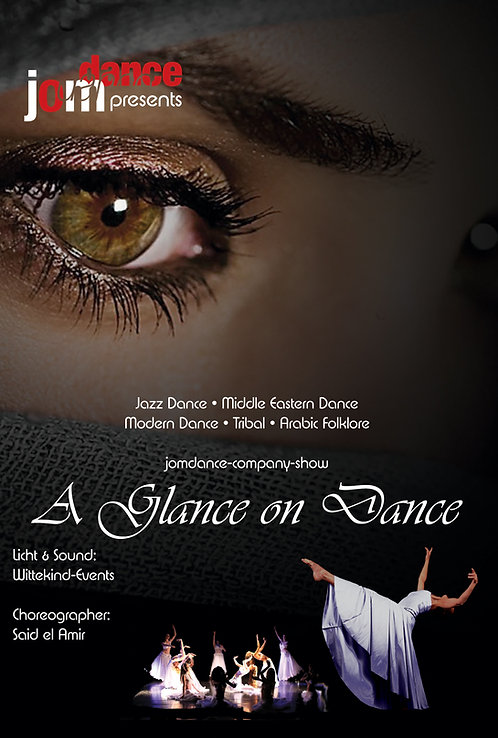 *A Glance on Dance* 90 min. Show-DvD plus Interviews & Making-of
