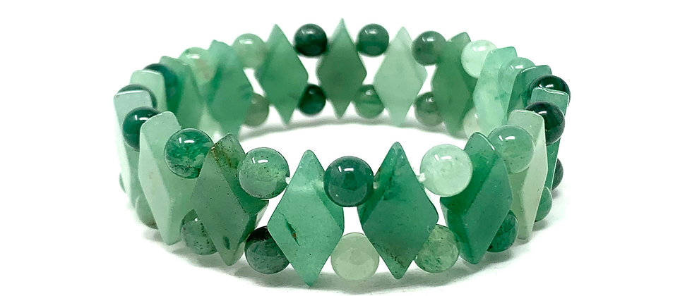 Green Aventurine Princess Bracelets (Price Per 10 Pieces Bag)
