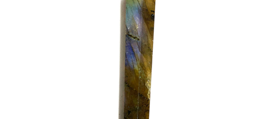 24-42 mm Labradorite Single Point.  (Price is Per Bag Of 10 Pieces)