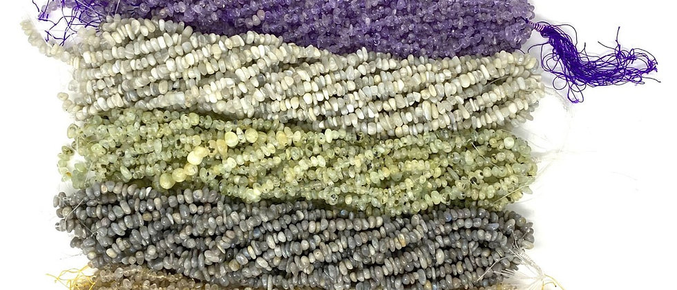 "100 Strands 15""-16"" Assorted Nuggets Beads (Sold by unit of 100 strands)"