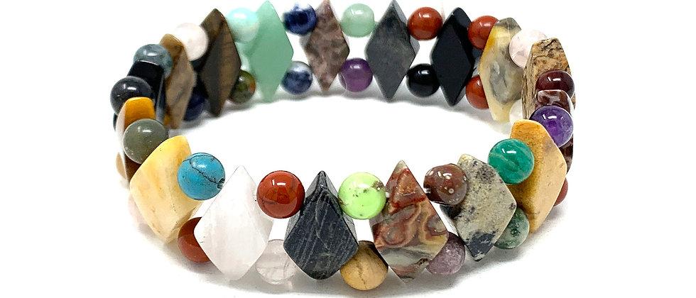 Multicolor Princess Bracelets (Price Per 10 Pieces Bag)