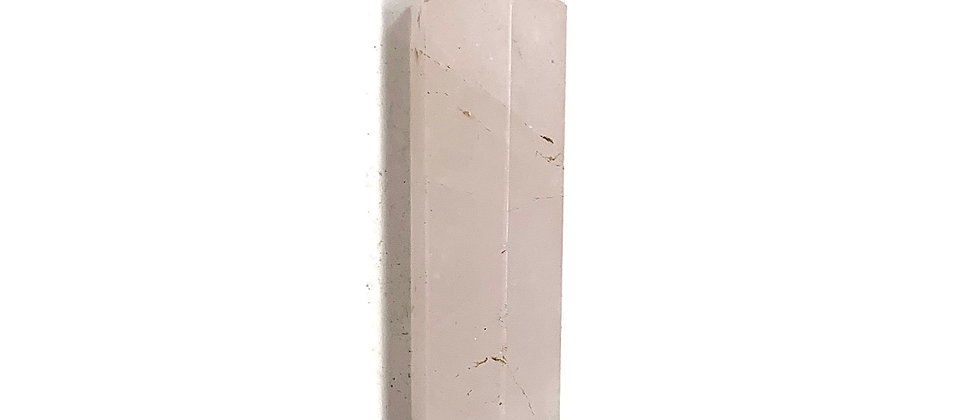 24-42 mm Rose Quartz Single Point.  (Price is Per Bag Of 10 Pieces)