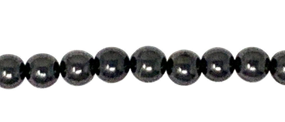 "10 mm Round Shungite Beads 16"" Strands (Sold By Unit of 1 Strand)"