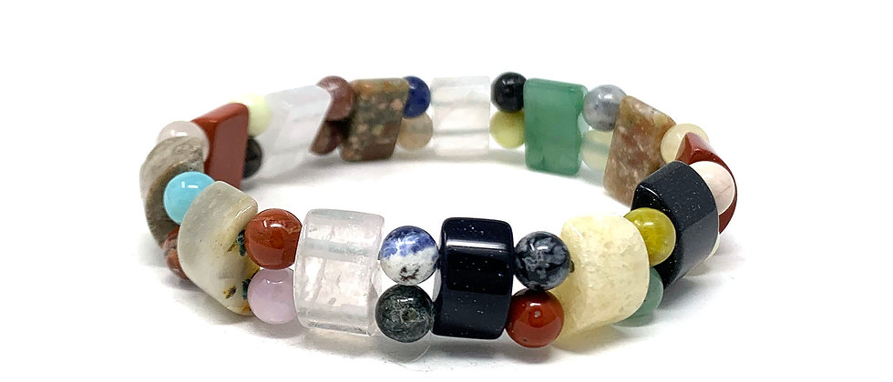 Multicolor Tanker Bracelets (Price Per 10 Pieces Bag)