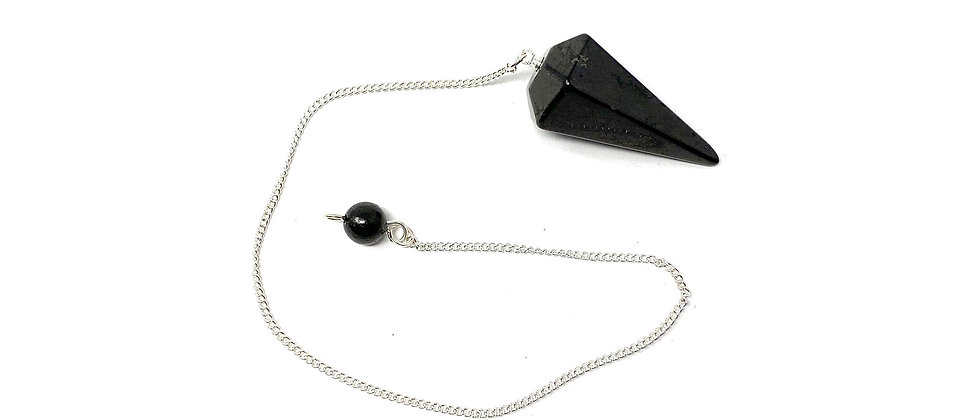 Shungite  Pendulum (Price is per package of 10 Pieces)