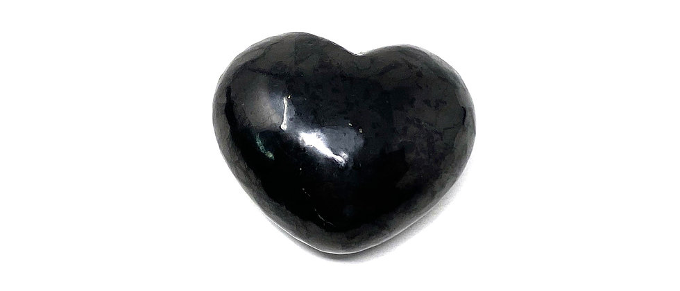 35x30x20mm Shungite  Heart (Price is per package of 10 Pieces)