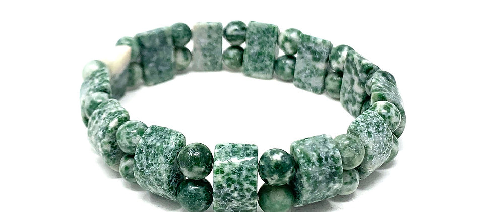Tree Agate Tanker Bracelets (Price Per 10 Pieces Bag)
