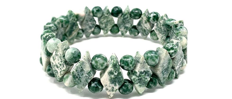 Tree Agate Princess Bracelets (Price Per 10 Pieces Bag)