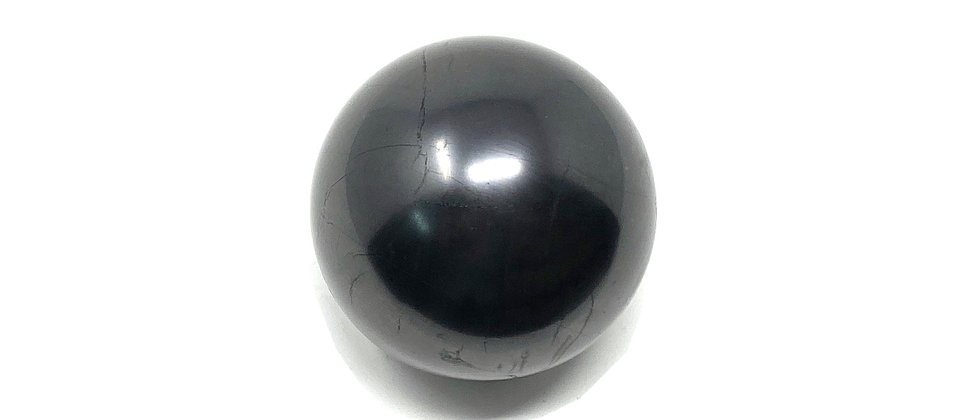 30mm Shungite  Sphere (Price is per package of 10 Pieces) (Avg. $5.88/PC)
