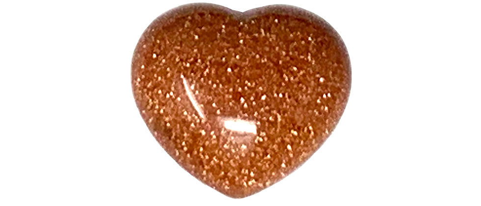 45X40X25MM Brown Goldstone Puffy Heart (Price is Per 12 Pcs Box)