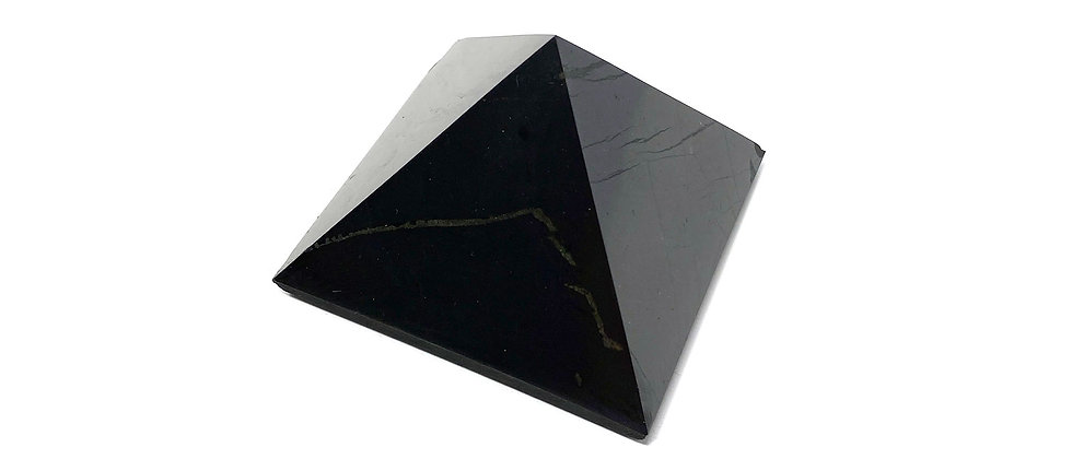 30mm Shungite  Pyramid (Price is per package of 10 Pieces) (Avg. $3.55/PC)