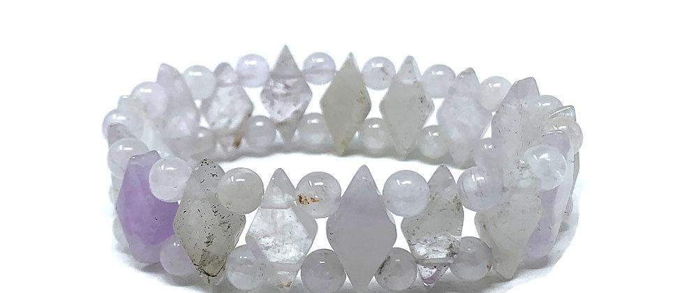 Light Amethyst Princess Bracelets (Price Per 10 Pieces Bag)