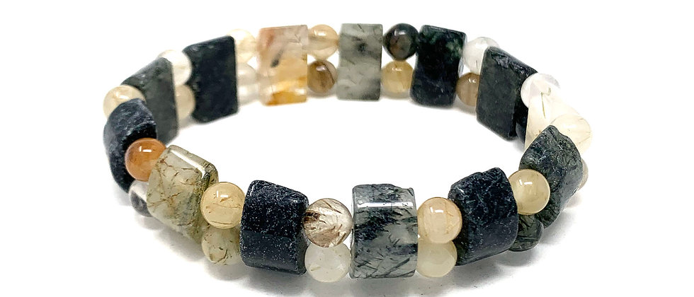 Multi Quartz Tanker Bracelets (Price Per 10 Pieces Bag)