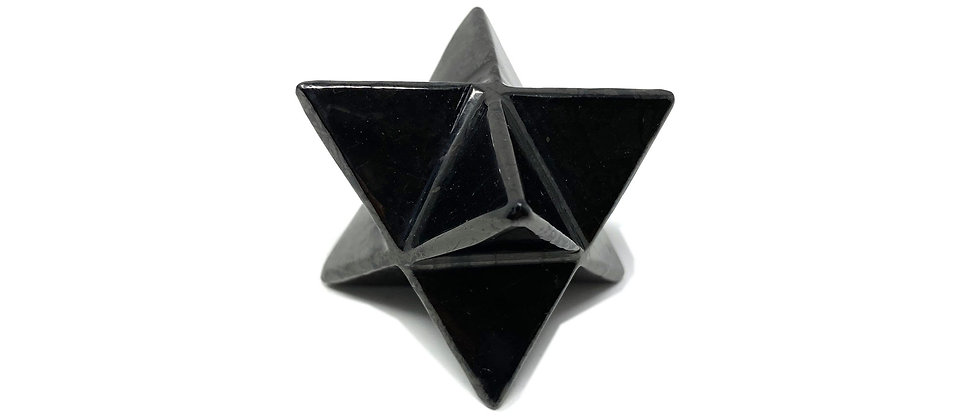30mm Shungite Merkabas (Price is per package of 10 Pieces)(Avg. $9.14/PC)