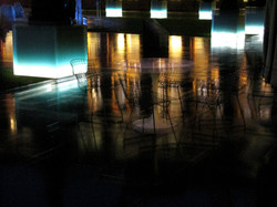 Chairs  - Nightscene V & A