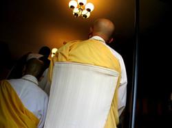 Visiting Buddhist Monks
