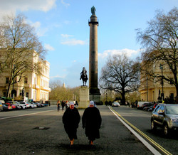 Strolling down Pall Mall