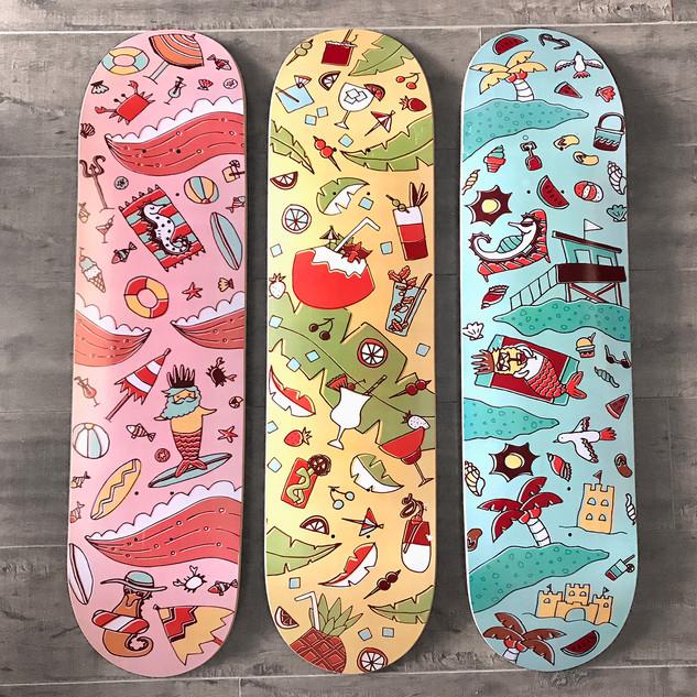 triptych malibu skateboards