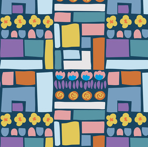 flowers & bricks