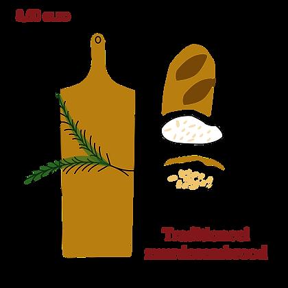 Traditioneel zuurdesembrood