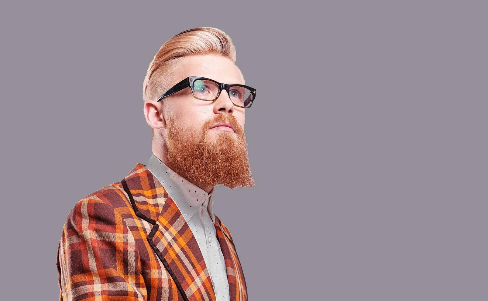 Man hair cut