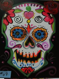 #09 Sugar Skull
