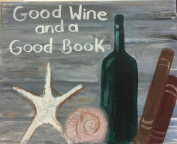 E-33 Good Wine Good book