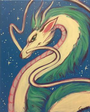 """G26 Dragon """"Spirited Away"""""""