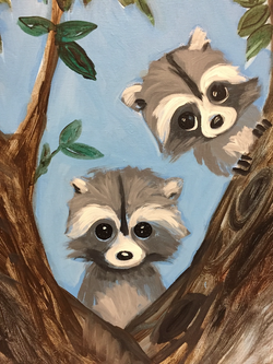 E-42 Baby Racoons