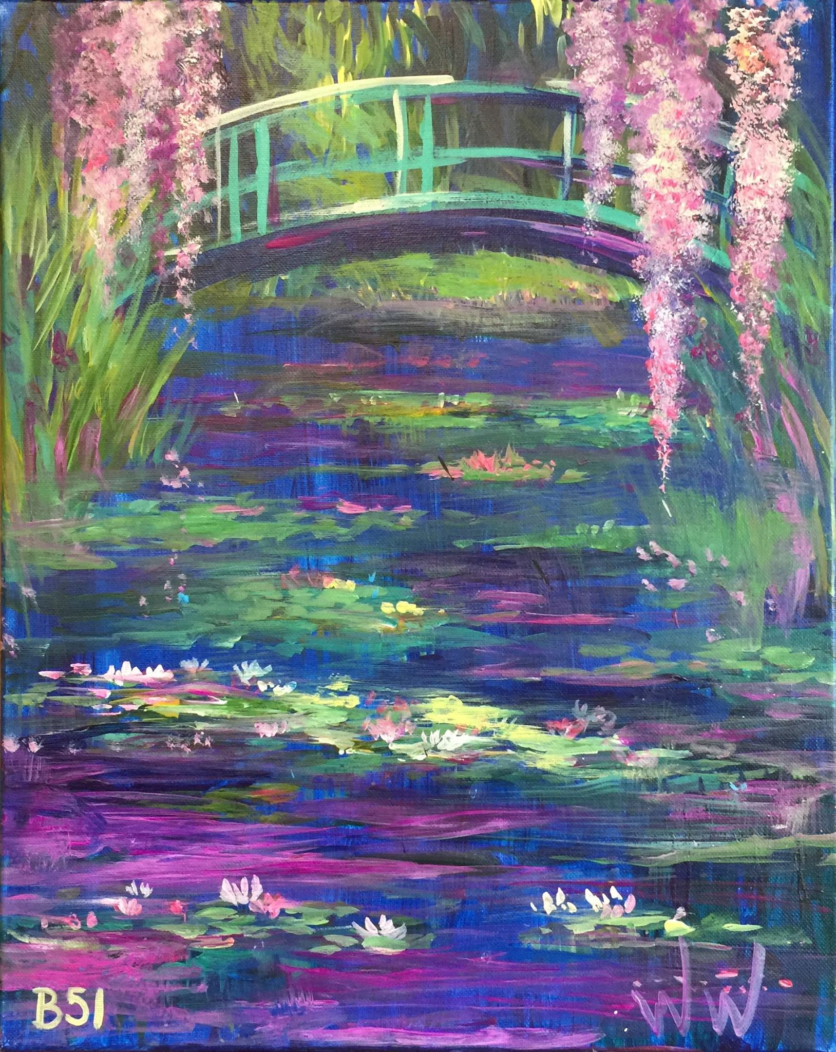 B-58 Monet Bridge