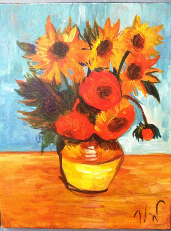 #15 Sun Flowers Van Gogh