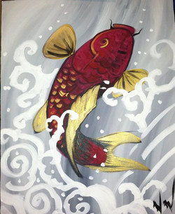#61-Single Koi Fish