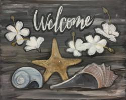 H14 Welcome Sea Shells
