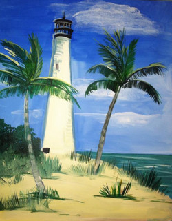 #B41-Light house Daytime
