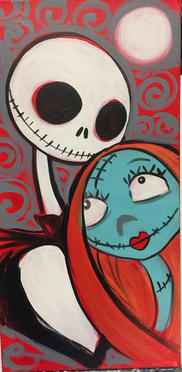 G30 Jack and Sally-Red,teal.