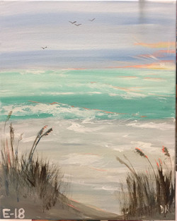 E-18 Beach Soft Pastels