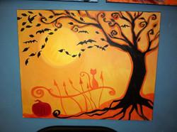 #08 Halloween tree
