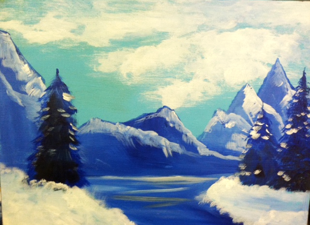 #17 Winter Mountains